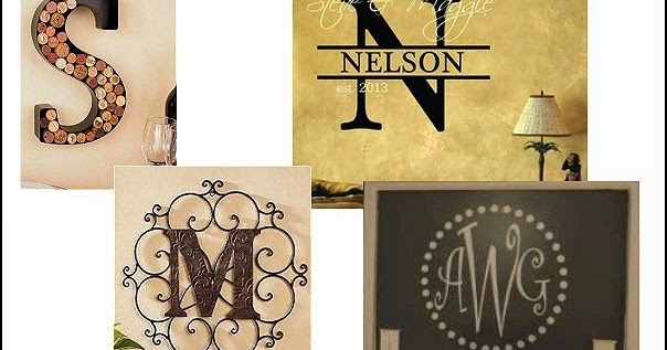 Outstanding Monogram Metal Wall Decor Gallery - Wall Art Collections ...