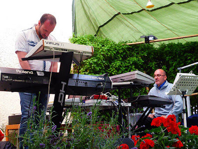 Alerick Project (Alessandro Ghera, Riccardo Fortuna) live @ Winnies Schwingungen Gartenparty 2016 / photo S. Mazars