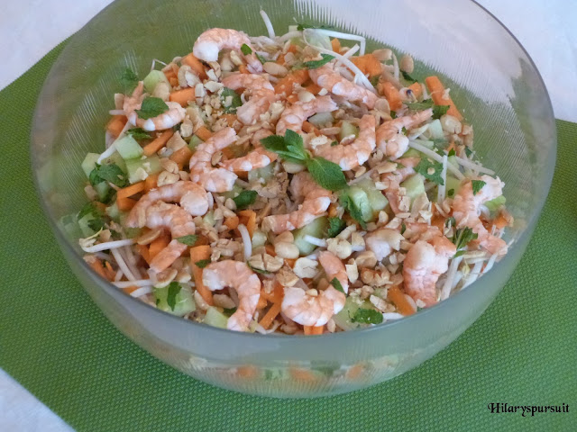 Ma salade façon rouleau de printemps