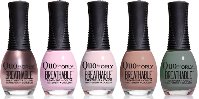 New shades from Quo by Orly Breathable Treatment + Color - with swatches!