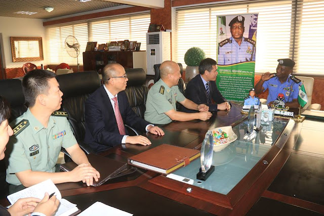 Courtesy visit to the IGP by the China Ambassador, 26th October, 2016.