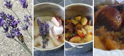 Zubereitung Apfel-Lavendel-Gelee