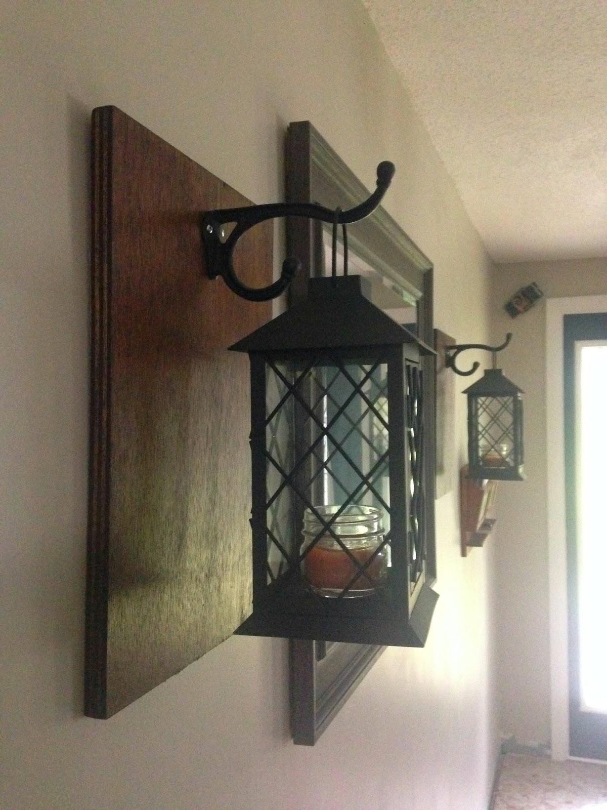 Wall Lantern Decor : Drew Danielle Design: DIY Lantern Wall Decor