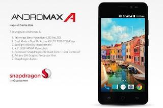 Andromax A, Termurah Untuk Jaringan LTE