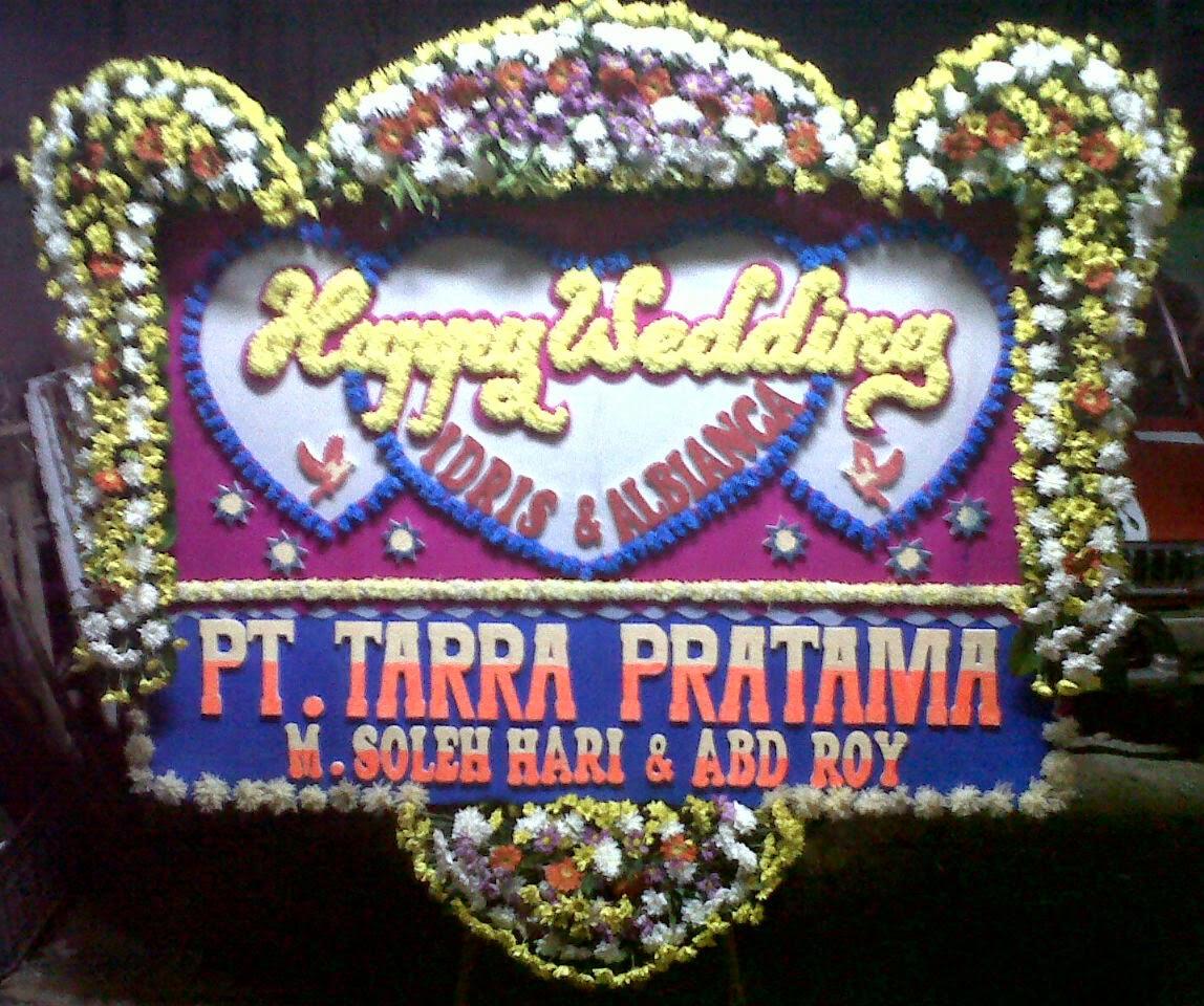 Bunga Papan Happy Wedding (WS-041)
