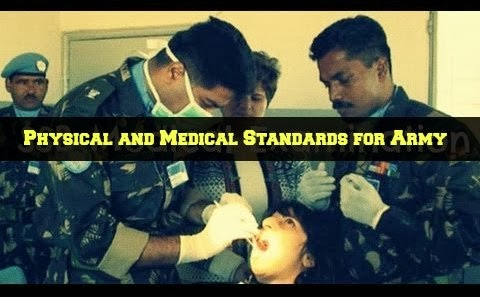 Physical and Medical Standards for Joining Indian Army