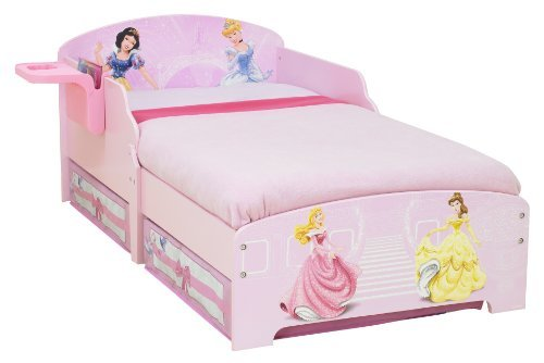LIVE MBC: Disney Princess Toddler Bed with Underbed ...