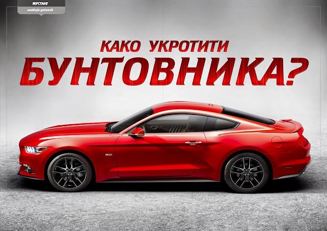 Ford Mustang GT Fastback Žurnalist