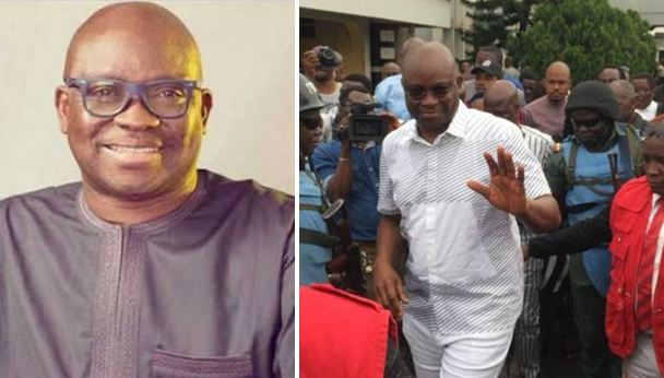 Former governor Fayose regains freedom after 13 days in EFCC custody Naijaslog