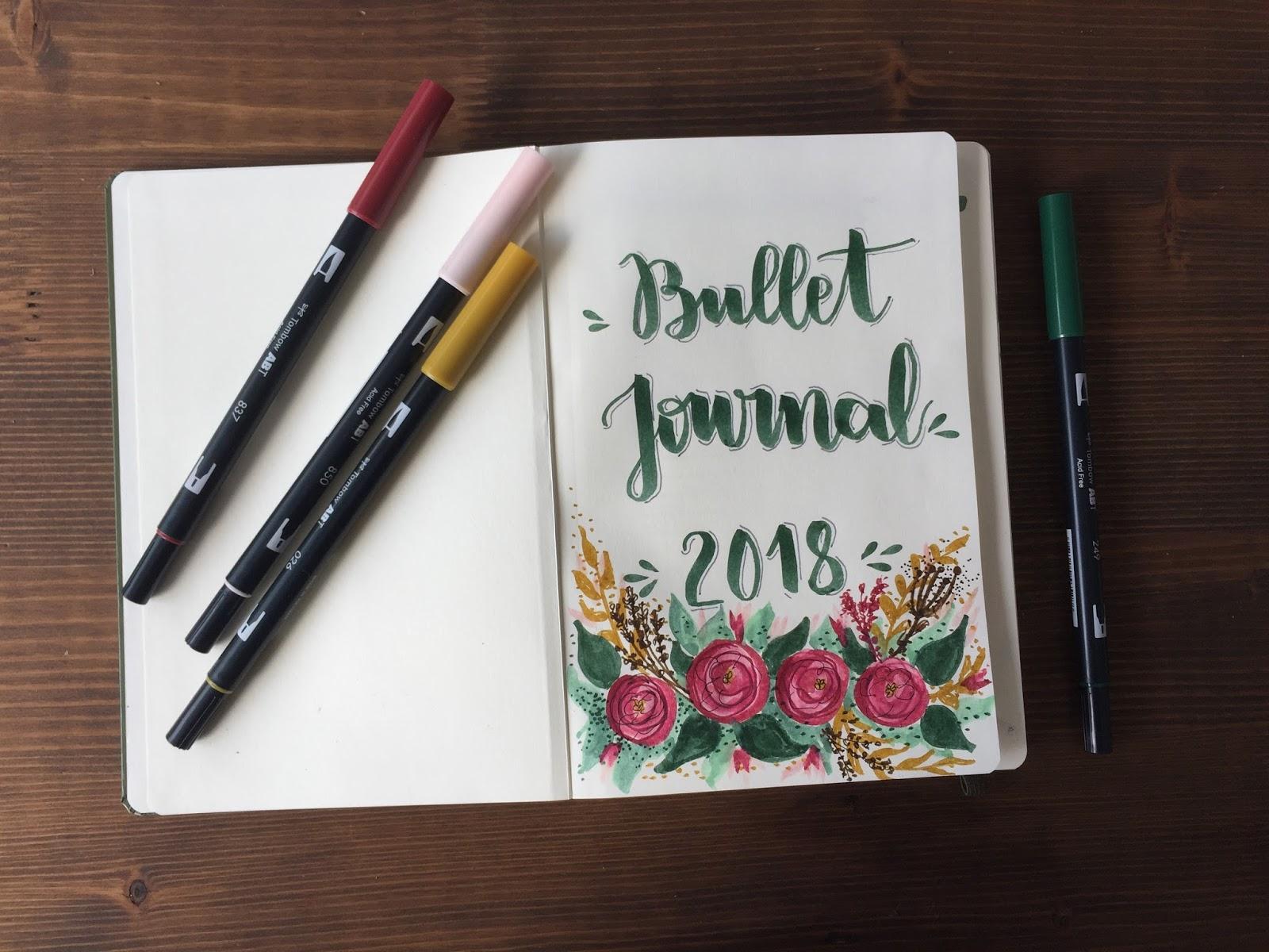 MI BULLET JOURNAL 2018 + EDICIÓN ENERO