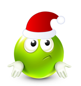 Christmas Smiley Icon 35