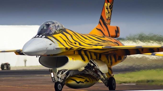 Jato F-16 Fighting Falcon