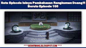Satu Episode Isinya Pembahasan Rangkuman Doang?! Boruto Episode 105