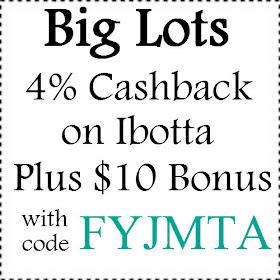 4 Cashback Bonus For Big Lots Purchase On Ibotta Plus 10 Bonus 08 2020 Referral Codes