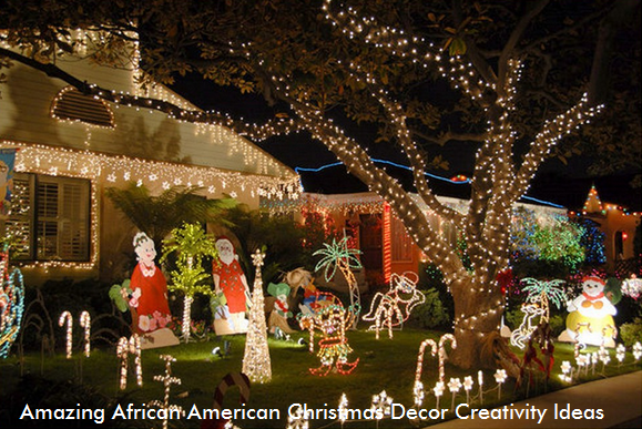 amazing african american christmas decor creativity ideas