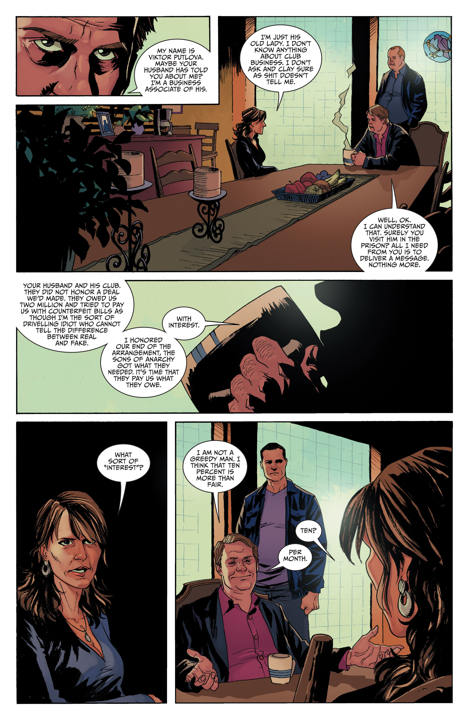 Read online Sons of Anarchy comic -  Issue #8 - 14
