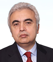 Fatih Birol is the executive director of the International Energy Agency. (Credit: telegraph.co.uk) Click to Enlarge.
