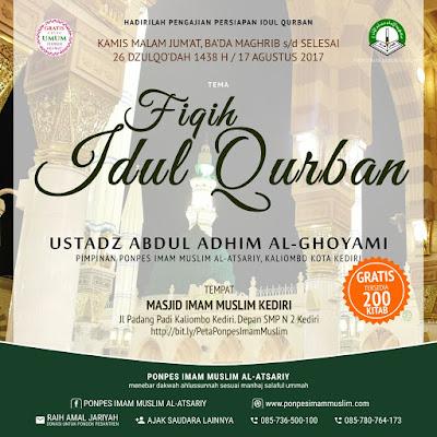 Info Kajian Sunnah Kediri: Fiqih Idul Qurban