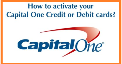 how to activate capital one credit card