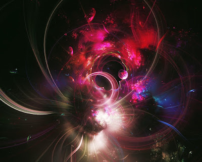 fractal, purple. black, imagination, cosmic, space, universe, quantum
