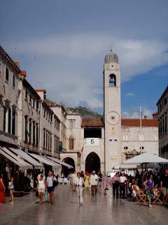 Clock Tower Dubrovnik Croatia