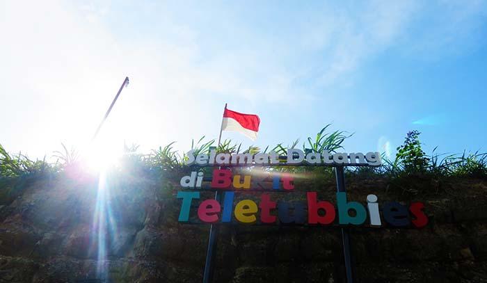 Bukit Teletubbies, Prambanan, Yogyakarta