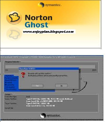 how to use norton ghost 9