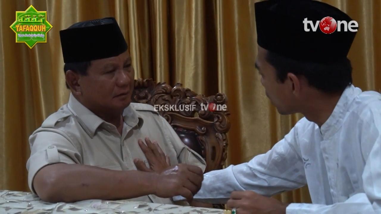 Tolak Jabatan, 2 Alasan UAS Dukung Prabowo Menggetarkan