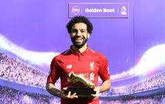 Mohamed Salah has been crowned this season's Premier League top scorer