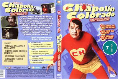 Série O Melhor do Chapolin Colorado Volume 7 DVD Capa