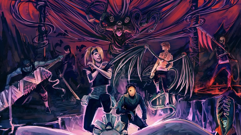 All Akatsuki Members, 4K, #34 Wallpaper