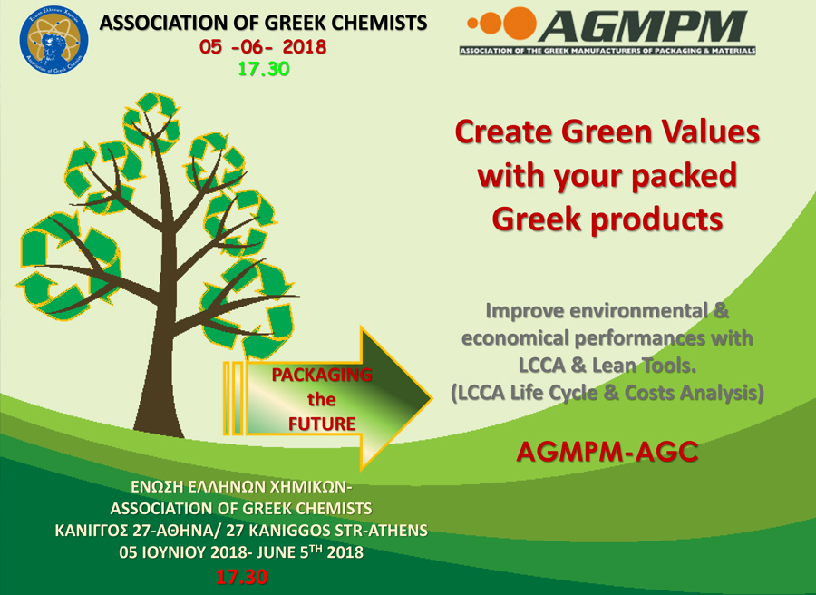 Create Green Values with your Packed Greek Products
