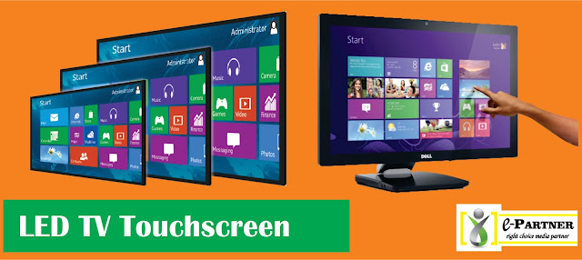 sewa rental tv touchscreen 43 inch surabaya