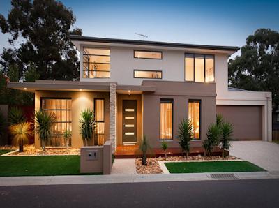 Kumpulan Bentuk Fasad Rumah Minimalis Terbaru 2016 - 002