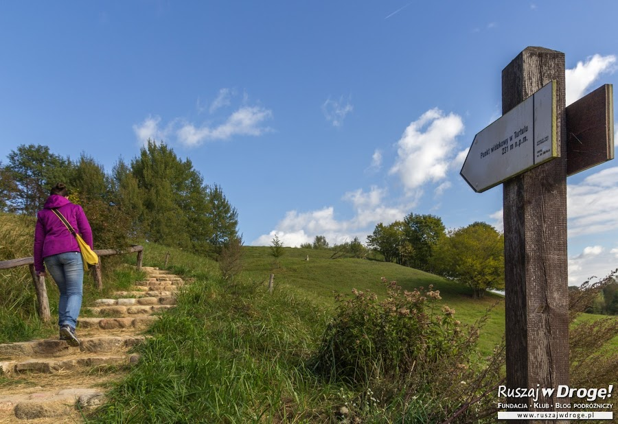 Wejście na Punkt Widokowy w Turtulu