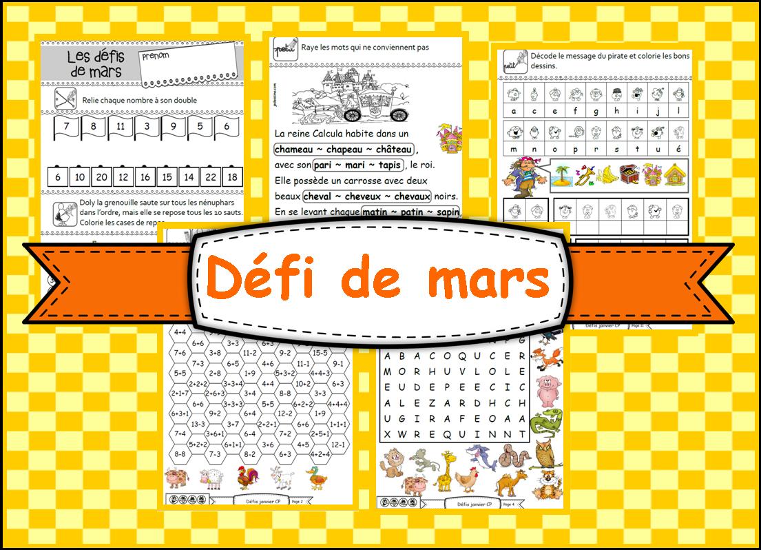 Coloriage Gs Fin Dannee.Ipotame Tame Gs Et Cp Defi De Mars