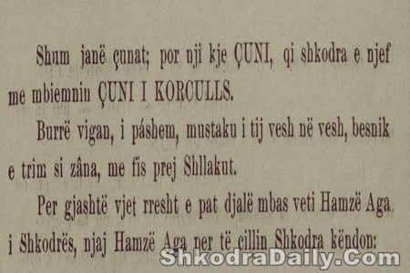 Gasper Gurakuqi - Çuni i Korculls