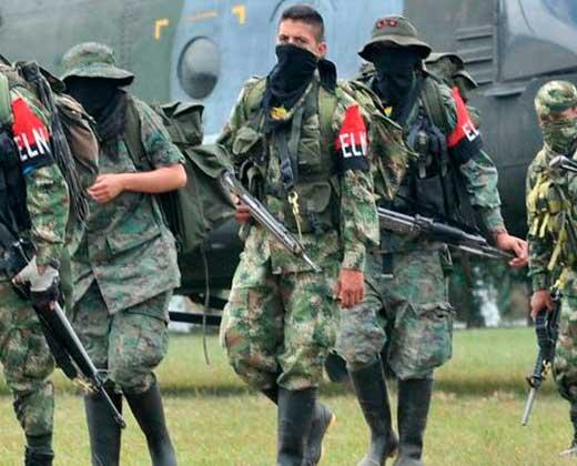 Tres miembros de la guerrilla de Colombia ELN mueren en un enfrentamiento con el ejército de Venezuela