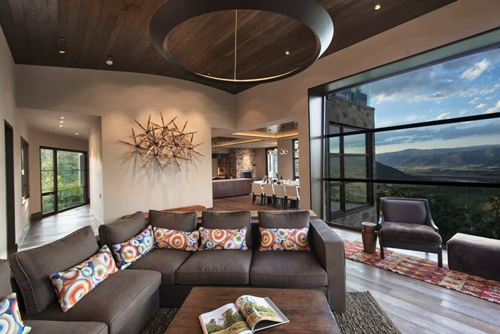 Modern Mountain House In Aspen Colorado Architecture