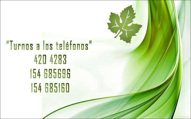 Telèfonos Estudio Juridico Dr. Fabricio Fernandez. Turnos