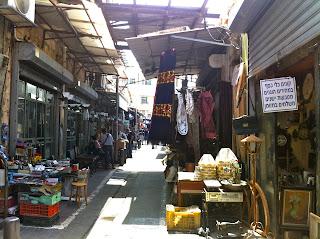 Jaffa flea market Israel