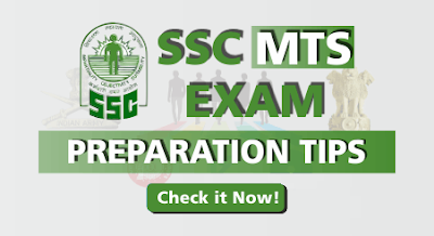 SSC MTS Exam Preparation Tips