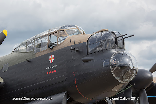 BBMF Lancaster Duxford