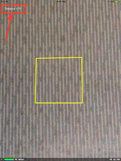 Adding distance Label as subview
