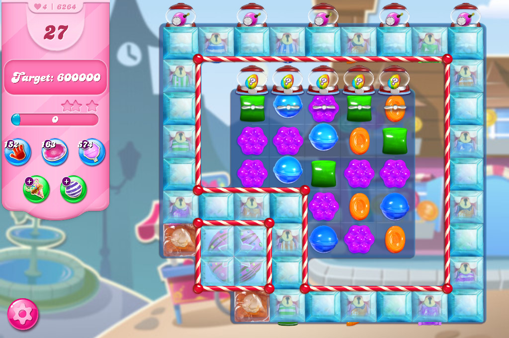 Candy Crush Saga level 6264