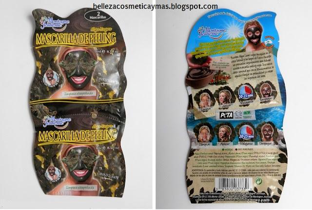 Mi opinión y experiencia con la mascarilla de Peeling Alga Negra de Montagne Jeunesse