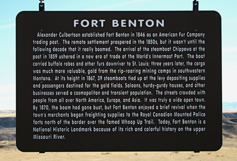 Fort Benton Montana Lewis and Clark
