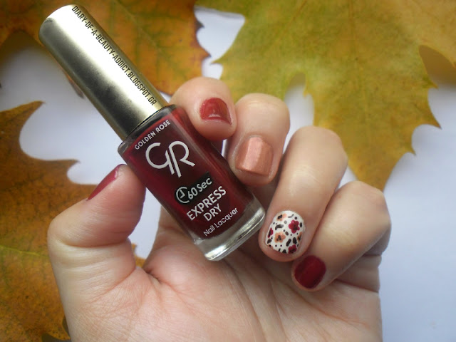 Golden Rose Express Dry Nail Lacquer 56 : Fall Nail Art