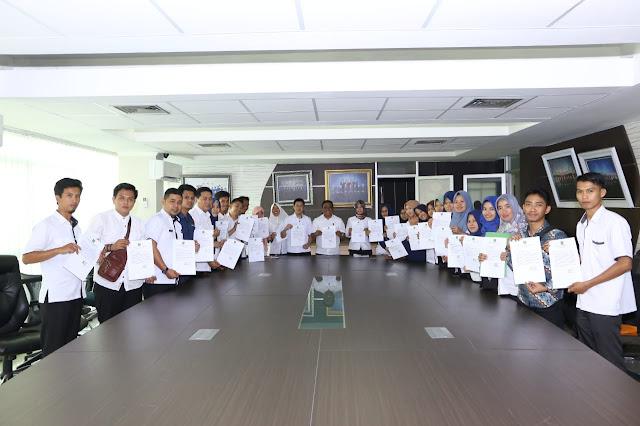 ASN dan PTT Humas Setda Muba Tandatangi Pakta Integritas