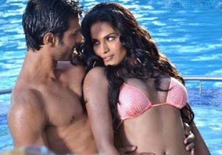 Veena Malik with Ashmit Patel